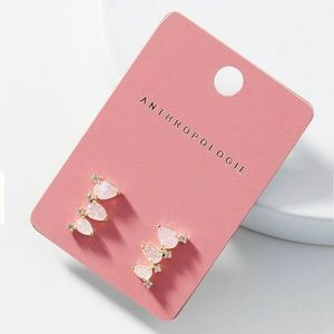 Anthropologie Trio Charm Crawler Earrings (NWT!)